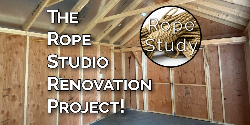 Rope Studio Renovation Fundraiser